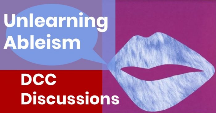 Unlearning Ableism logo