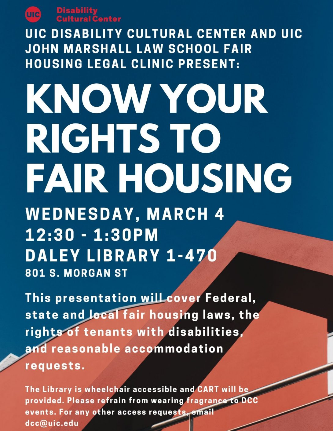 Know Your Rights to Fair Housing flyer