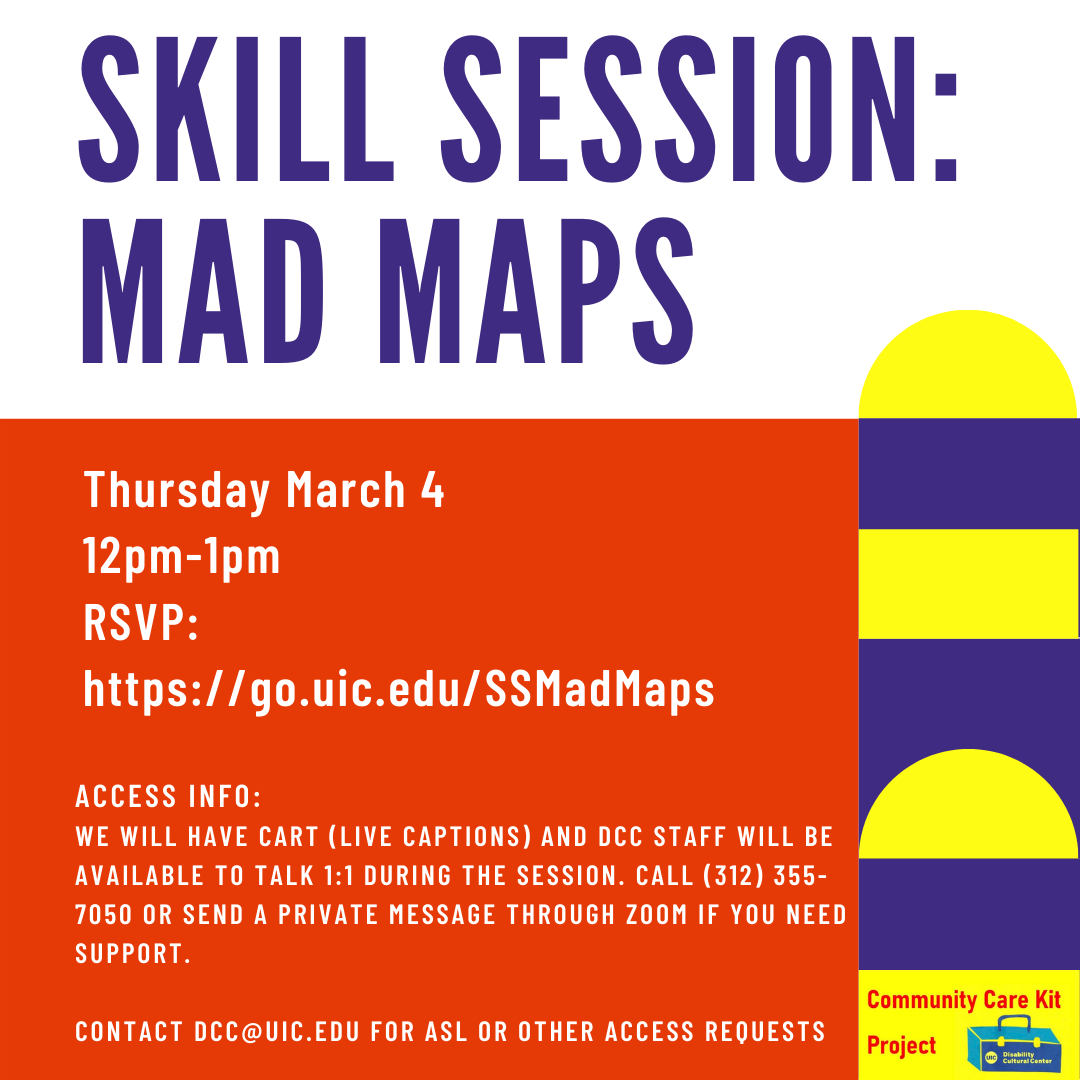 Mad Maps Flyer